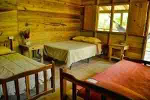 Hoteles en el Rio Cangrejal