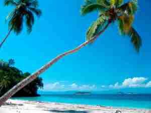 Playa Argentina en Cayos Cochinos
