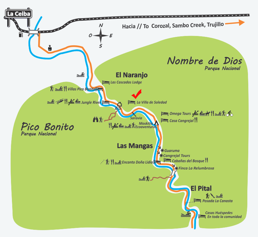 donde es la cuenca del Rio Cangrejal