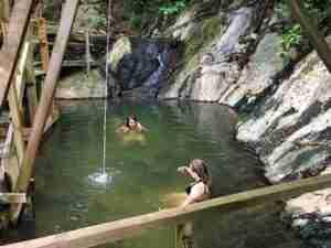 Aguas Termales en La Ceiba