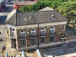 Edificios historicos en La Ceiba